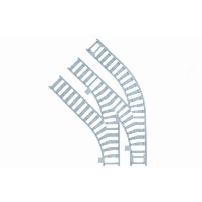 Ballast plaat voor Compact Switch Set - 1 x Rechts 2 x Links Wissel in bocht 45 graden R40