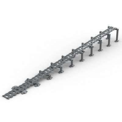 Brug 2.0 Helling - 10 segmenten